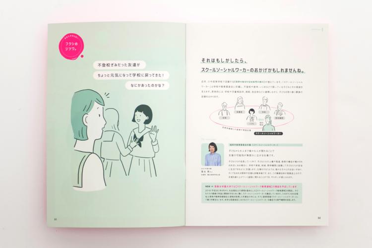 「社会福祉コース」リーフ